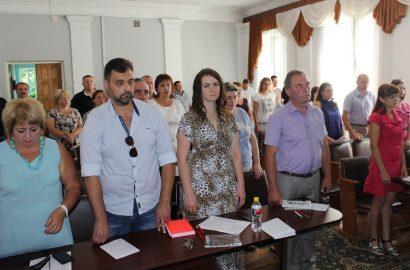 19 червня під головуванням міського голови Олександра Медведьова  відбулась  22 сесія міської ради