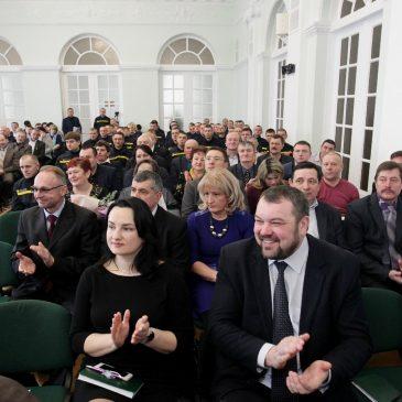 7 лютого міський голова Олександр Медведьов взяв участь у розширеному засіданні колегії облдержадміністрації
