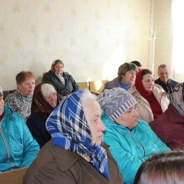 Тривають відкриті зустрічі з жителями сільських населених пунктів