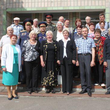 17 травня відбулася зустріч ветеранів Городнянщини з ветеранами Сновщини з нагоди 74-річчя визволення України від нацистських загарбників у рамка обміну досвідом