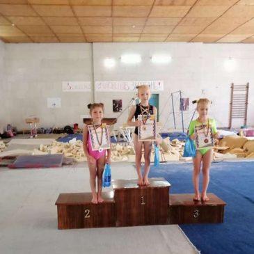 Успішний виступ наших гімнасток на відкритому чемпіонаті Сновської ОТГ