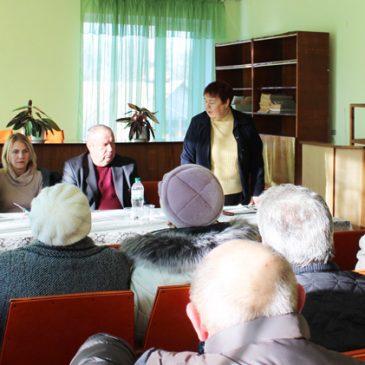 Перший заступник міського голови Іван Орда зустрівся з членами районної організації ветеранів України