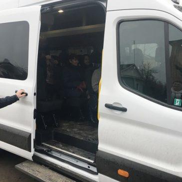 Перший виїзд нового мікроавтобуса