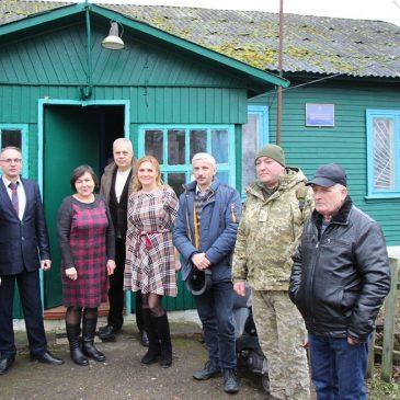 12 лютого, згідно графіка, пройшли сходи громадян у маленькому прикордонному селі Клюси