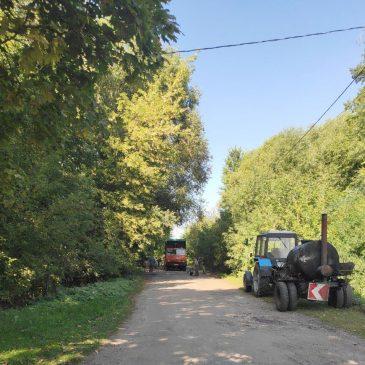 Ямковий ремонт дороги до Низківки здійснили сільгосппідприємства, які працюють на території громади