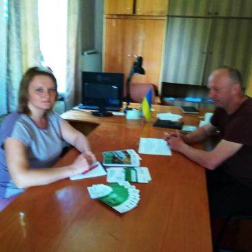 У Новоборовицькому старостинському округу Сновської міської ради працював мобільний консультативний пункт