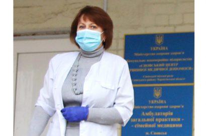 Генеральний директор КНП «Сновський центр ПМД» Олена Шарпан щодо щеплення жителів Сновщини від COVID-19