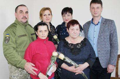 Вітання і слова вдячності матерям та дружині загиблих солдатів