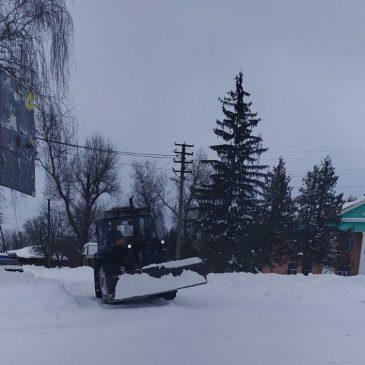 Щиро дякуємо всім, хто розчистив вулиці від снігу