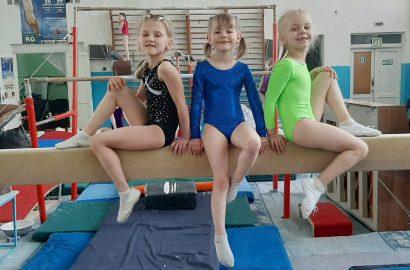 Вітаємо «бронзових» призерок відкритого обласного Чемпіонату зі спортивної гімнастики
