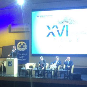 Міський голова Олександр МЕДВЕДЬОВ бере участь у в XVІ Українському муніципальному форумі в Одесі