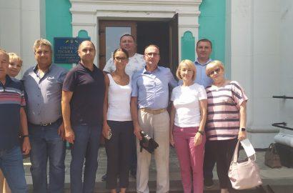 Минулого тижня перший заступник голови обласної ради Ніна Лемеш перебувала із робочим візитом у Сновській територіальній громаді